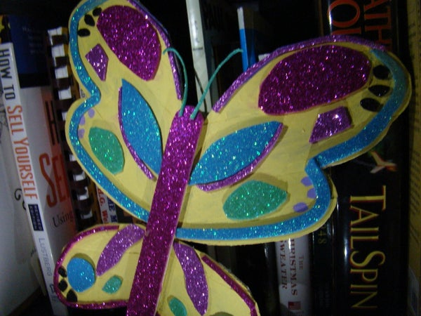 Popsicle Stick Butterfly