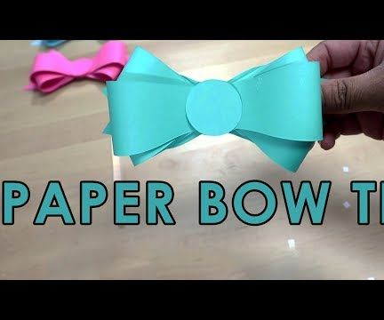 How to Make Paper Now Tie