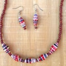 BEADS NECKLACE TUTORIAL - DIY