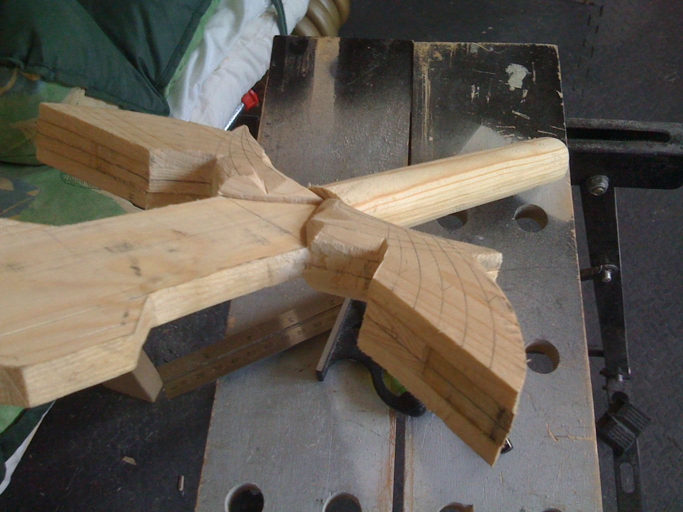 Guard - Carve and Glue Wings