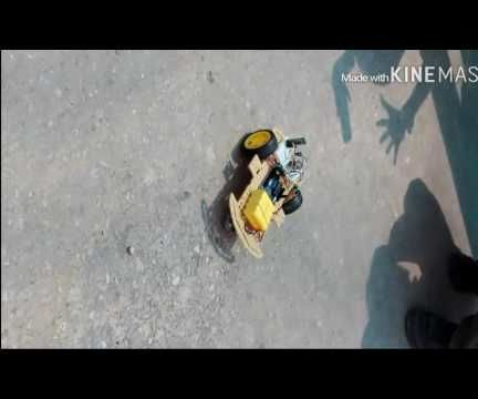 Gesture Controlled Robotic Car With Android Application