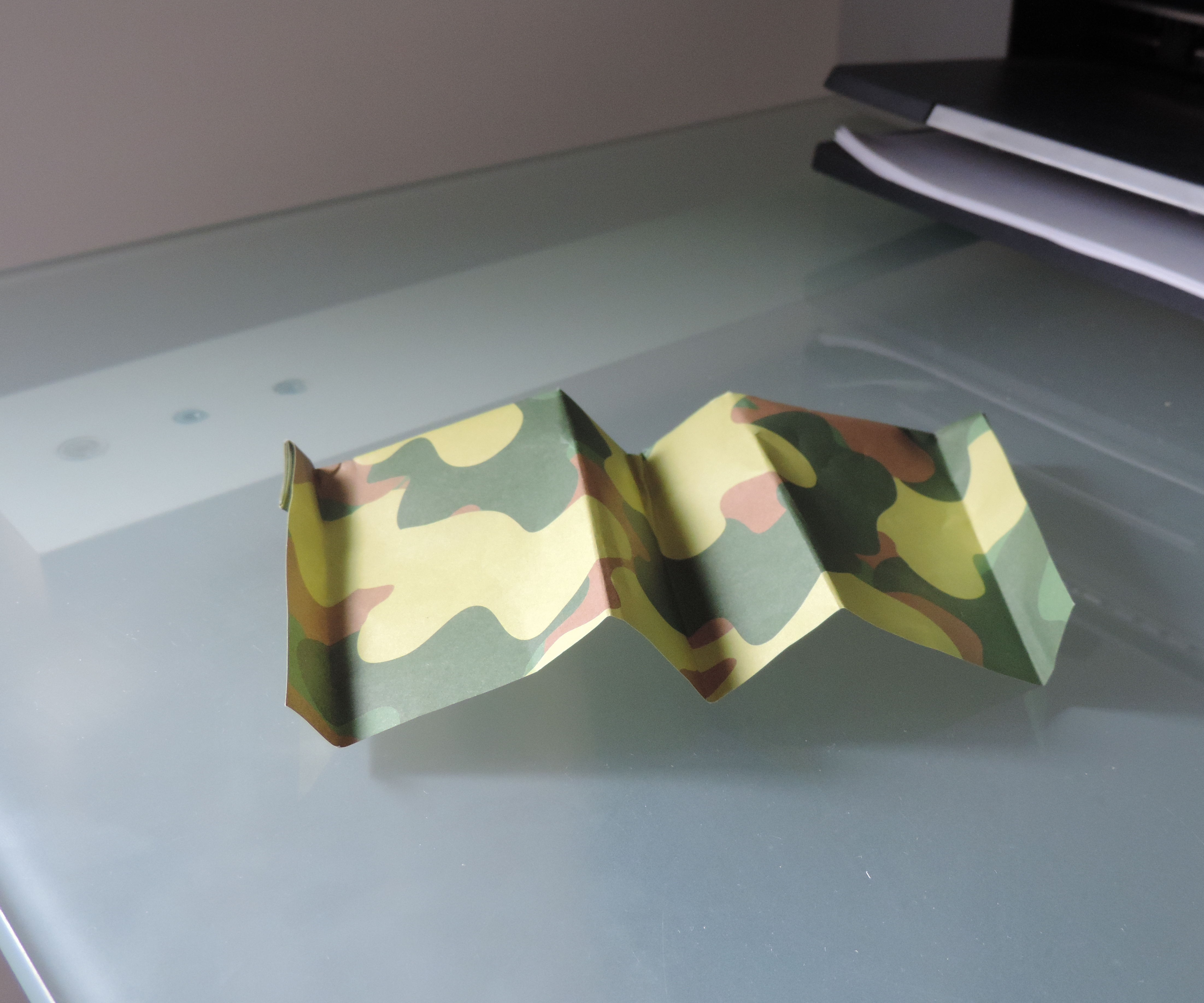 paper spy plane