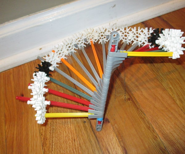 In and Out Spiral- a K'nex Ball Machine Element