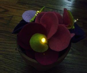 Dark Detecting LED Flowers