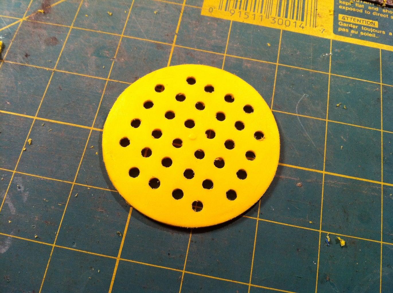 LED Mounting Holes