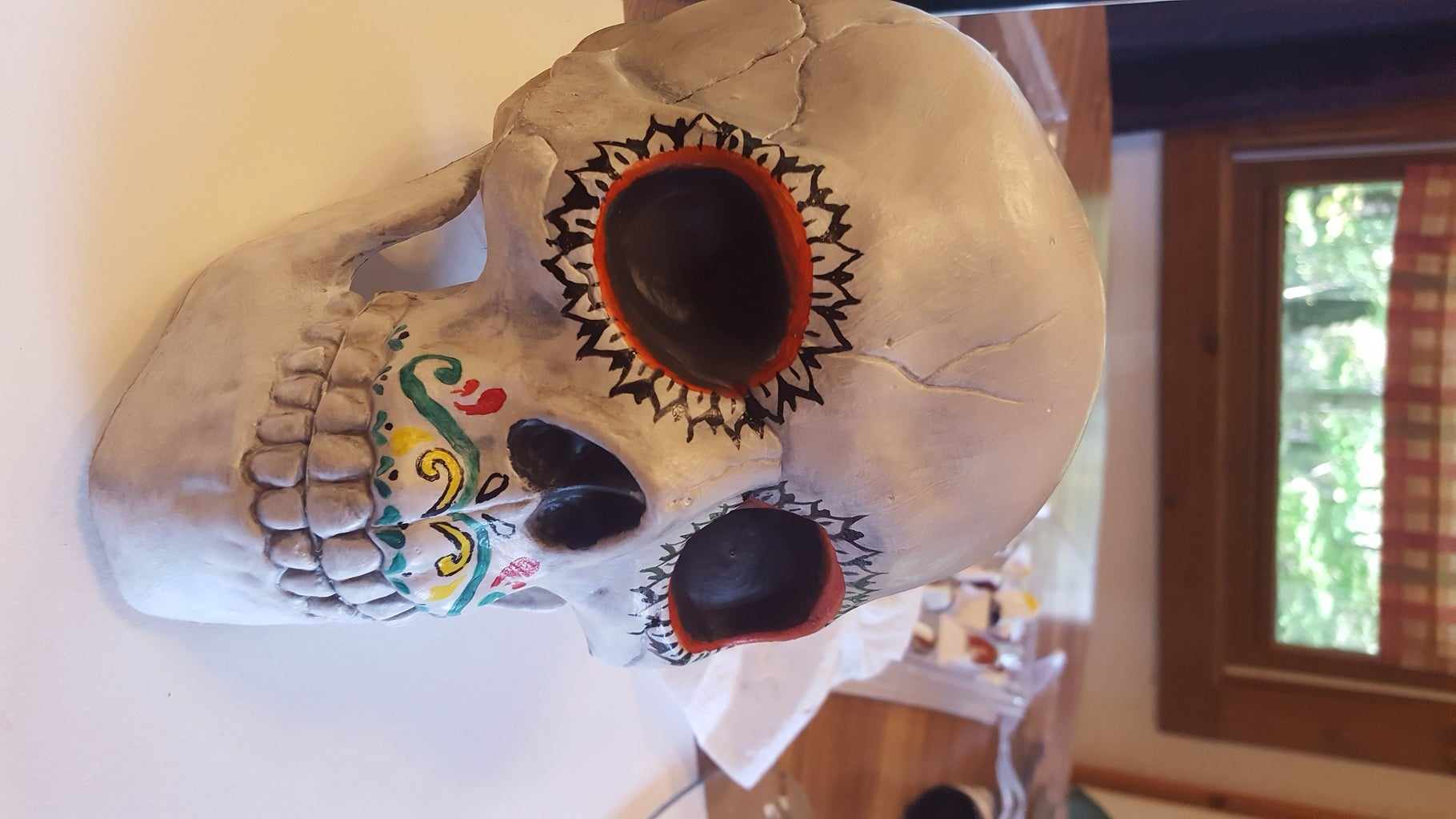 Painting the Skull