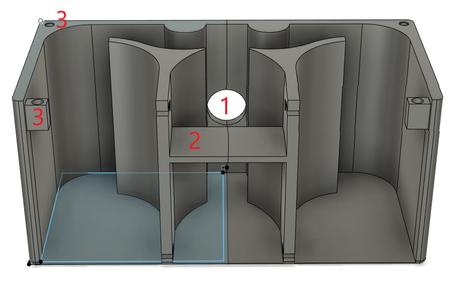 3D Printed Parts: the Base