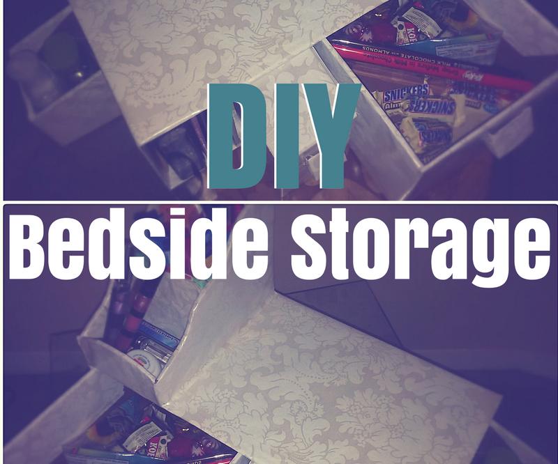 DIY Bedside Storage