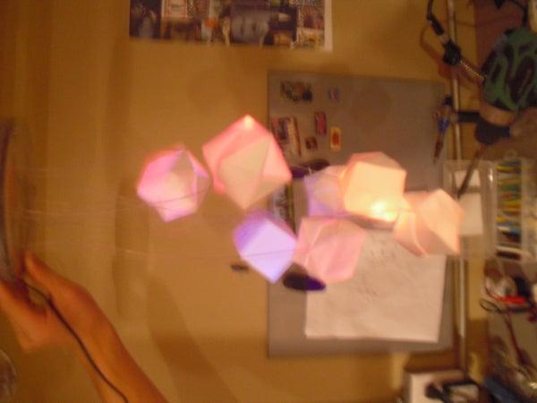 Origami Cube Led Mood Lamp