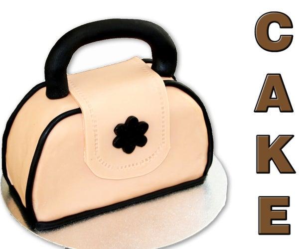 How to Make a Handbag Cake