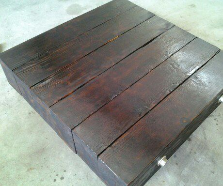 How to make your own Timber Coffee Table