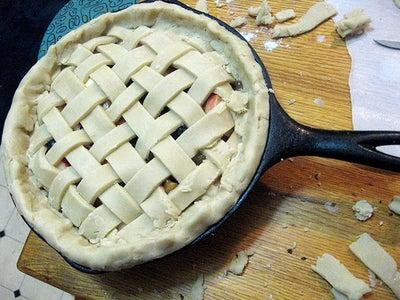 Finish Pie Assembly.