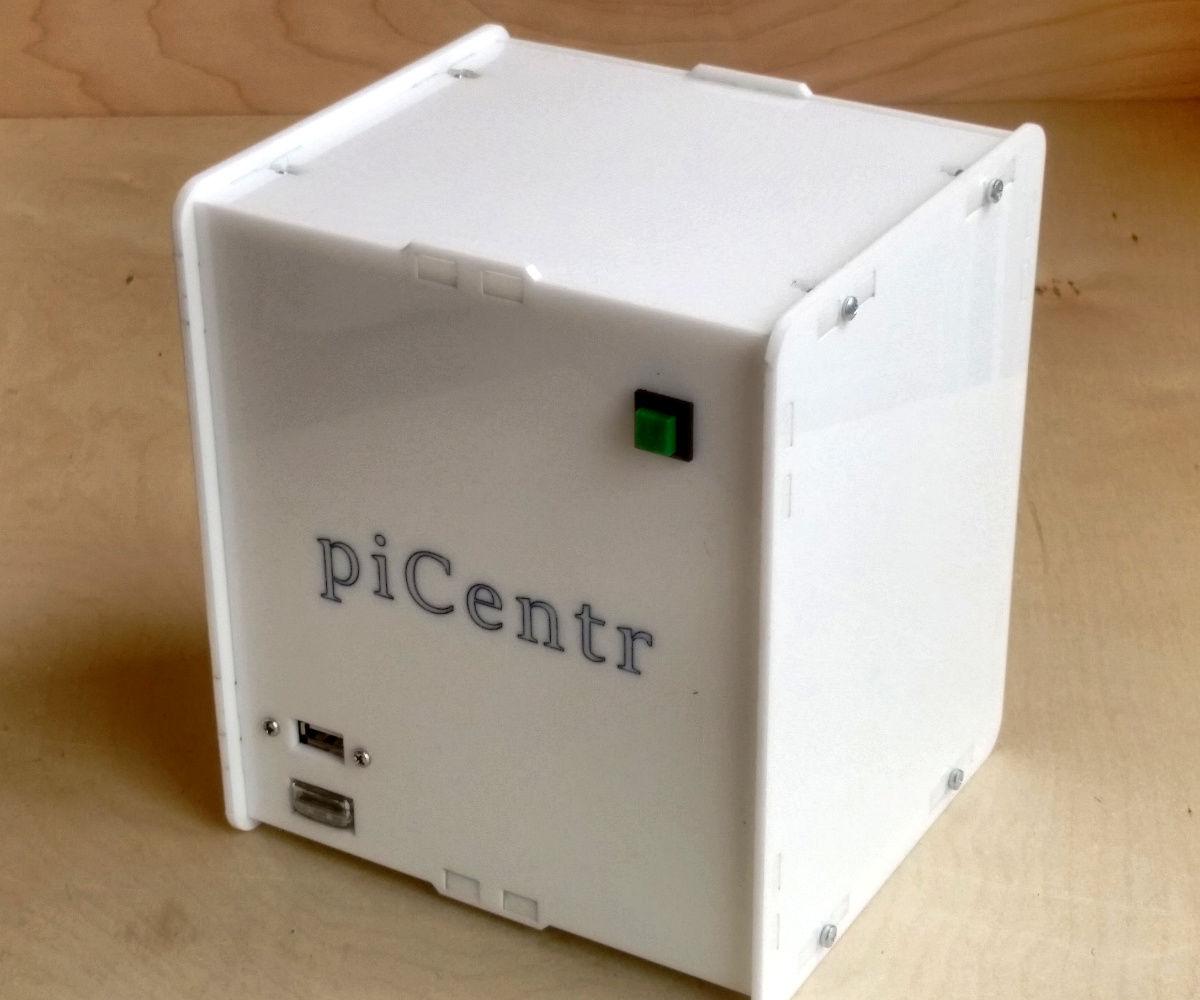 Building a piCentr home media center