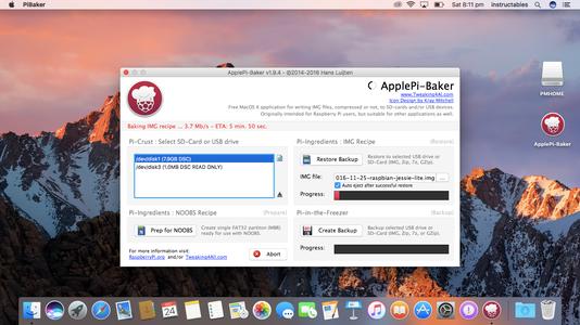 Install Raspbian OS Using Mac OS X
