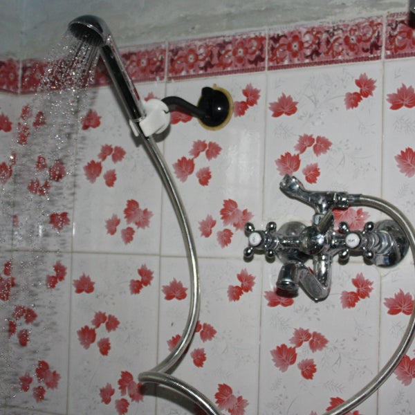 Over-head Shower From a Hand Shower