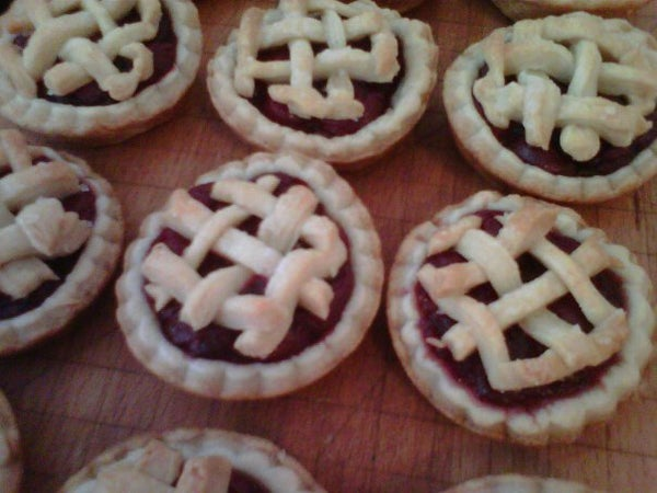 Baby Cherry Pies!