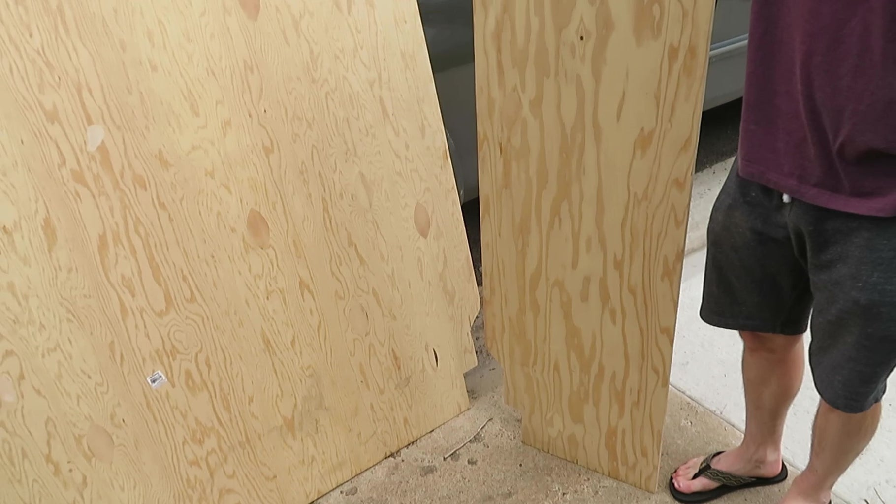 Step 2: Measure Bed Corners, Cut Plywood, and Lay It on Top of 2x6 Beams