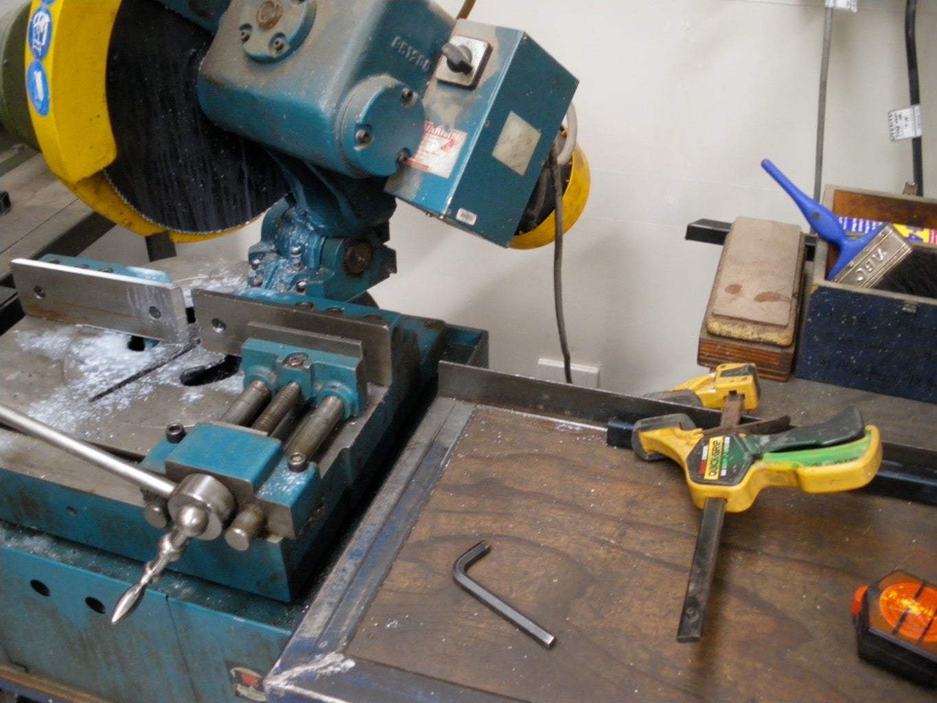 Cut and Drill Metal