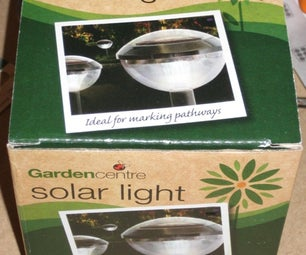 Cheap Solar Light Dismantled and Repurposed... Kind Off.