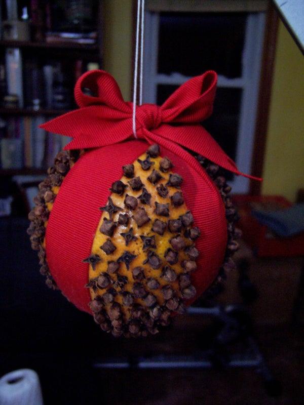 Pomander Ball Christmas Gift