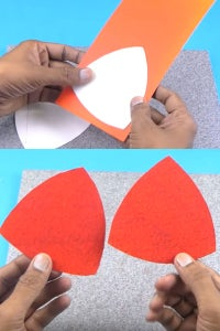 Let's Cover the Triangles Using Color Sheet!