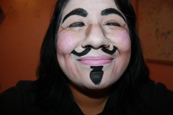 The Easy Version of V for Vendetta Make-up