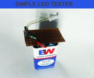 DIY LED TESTER