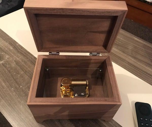Handmade Wooden Music Box