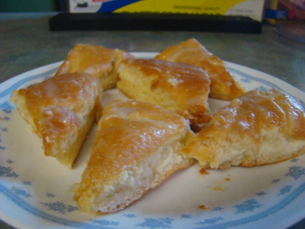 Lemon Cheesecake Squares (or Triangles)