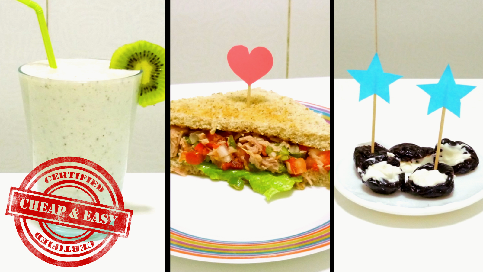 How to make 3 healthy and yummy snacks - under 100 calories!!