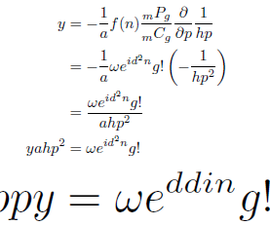 Happy Wedding Equation