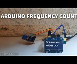 Simple Frequency Counter Using Arduino