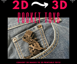 Pocket Toys: Convert 2D Images to 3D Printable Toys