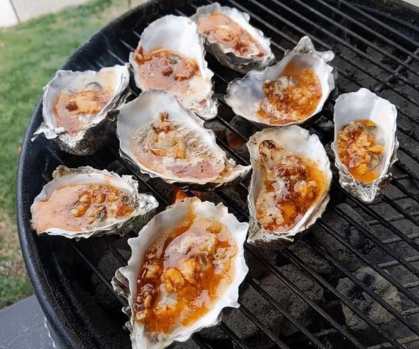 Hog Island Oyster Grilled Oysters