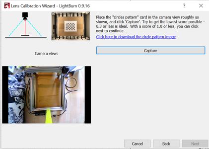 Calibrate the Camera