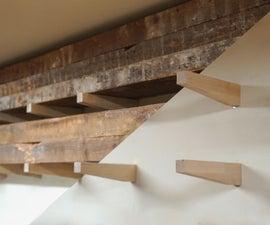 "Building a ""Floating"" Lumber Rack"