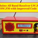 Arduino All Band Receiver LW,MW,SW,FM With Improved Code