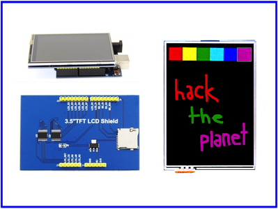 Full Color TFT LCD 480x320 Touch Screen