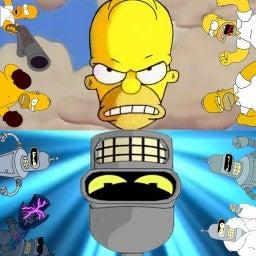 Bender vs homer compressed.jpg