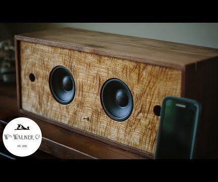 Wireless Battery Powered Bluetooth Speaker