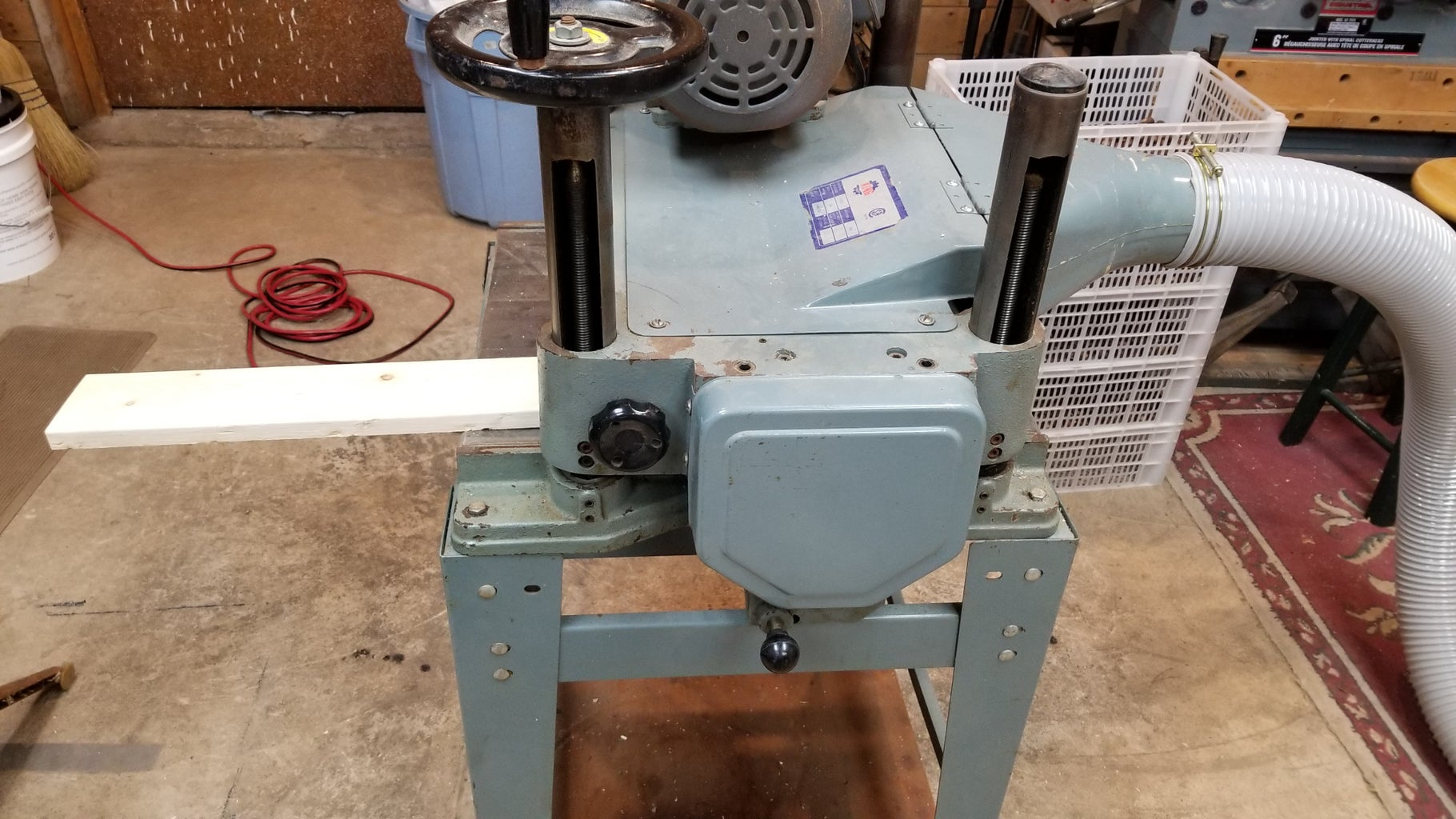 The Thickness Planer