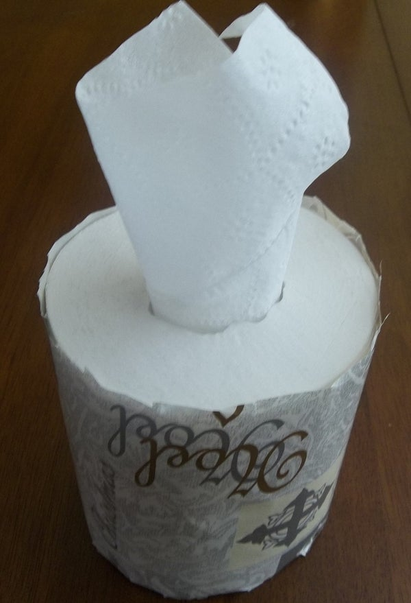Homemade Tissue Box