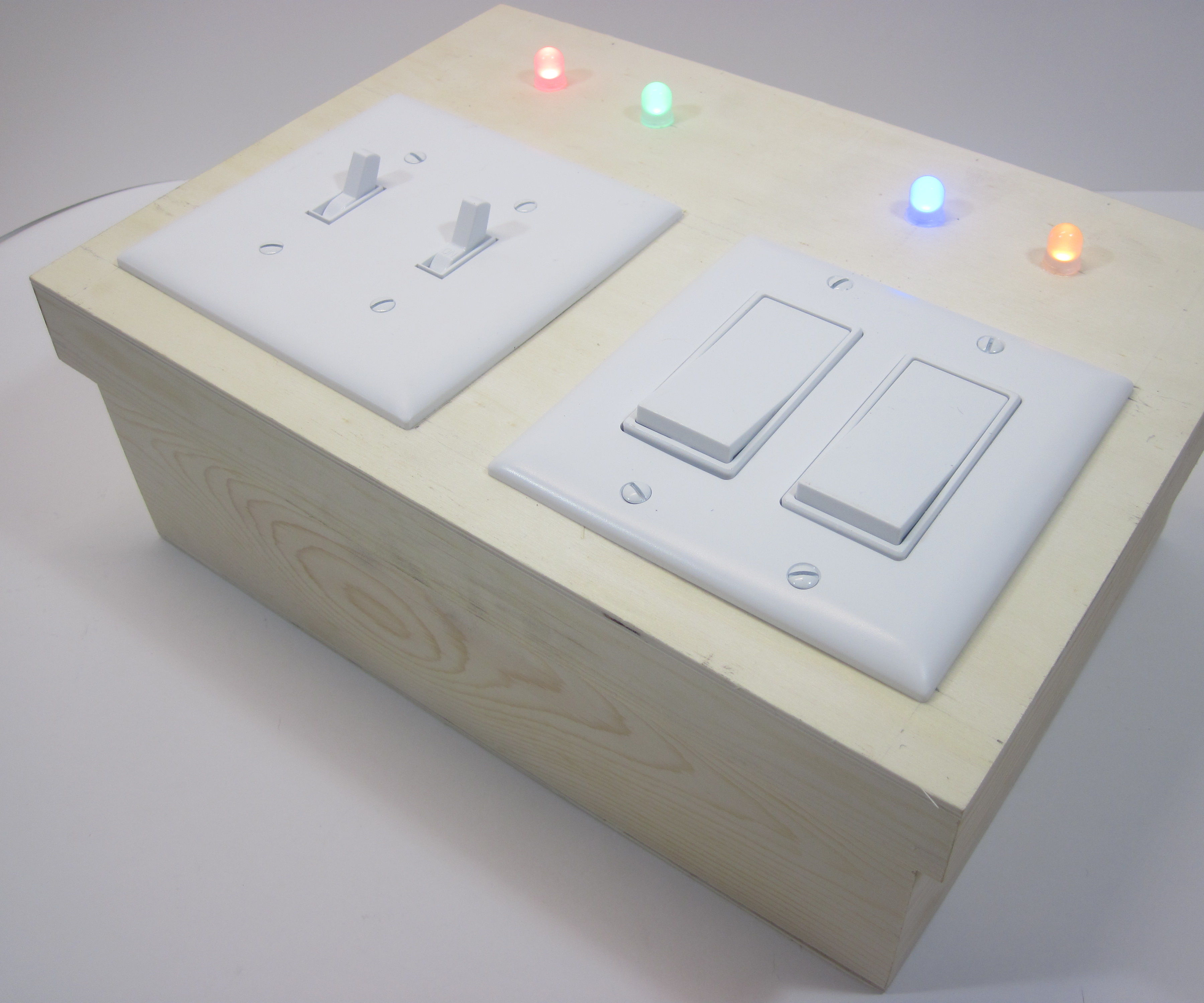Child's Toy Light Switch Box