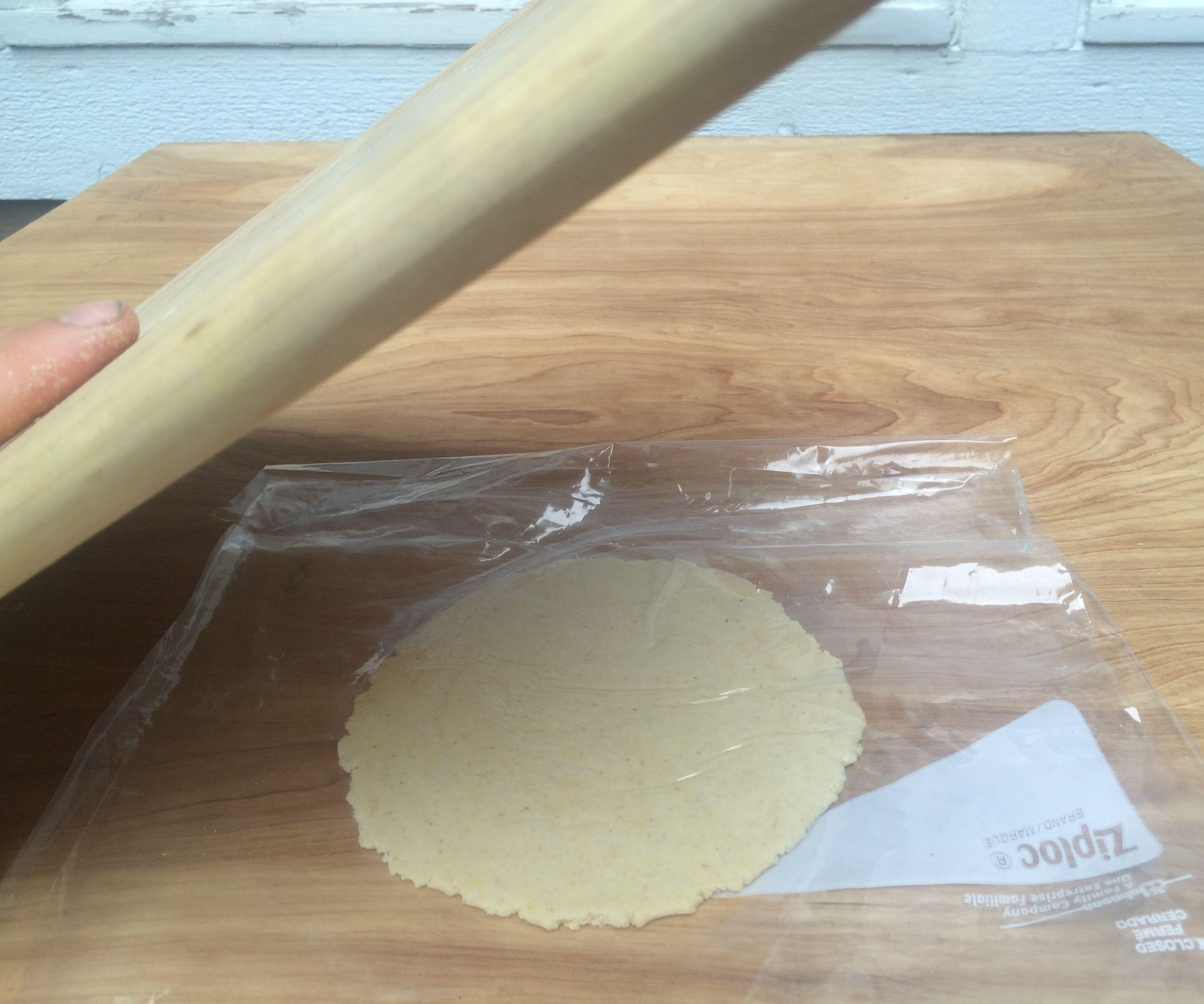Cutting Board Tortilla Press