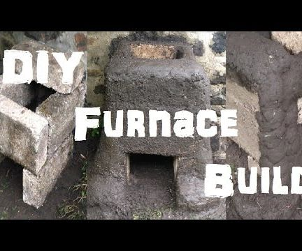 Mud and Brick Furnace