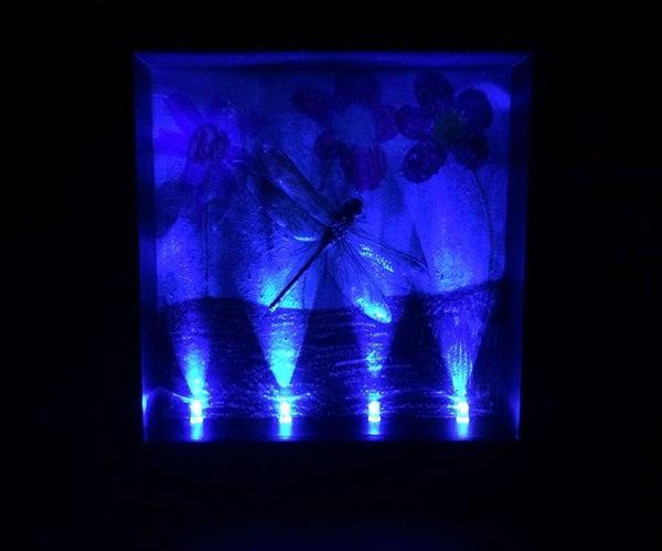 Repurpose LEDs for Shadow Box Lighting