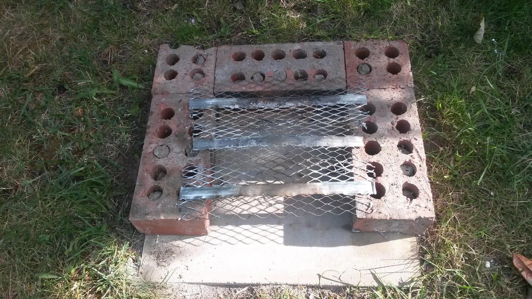 1st Course of Bricks
