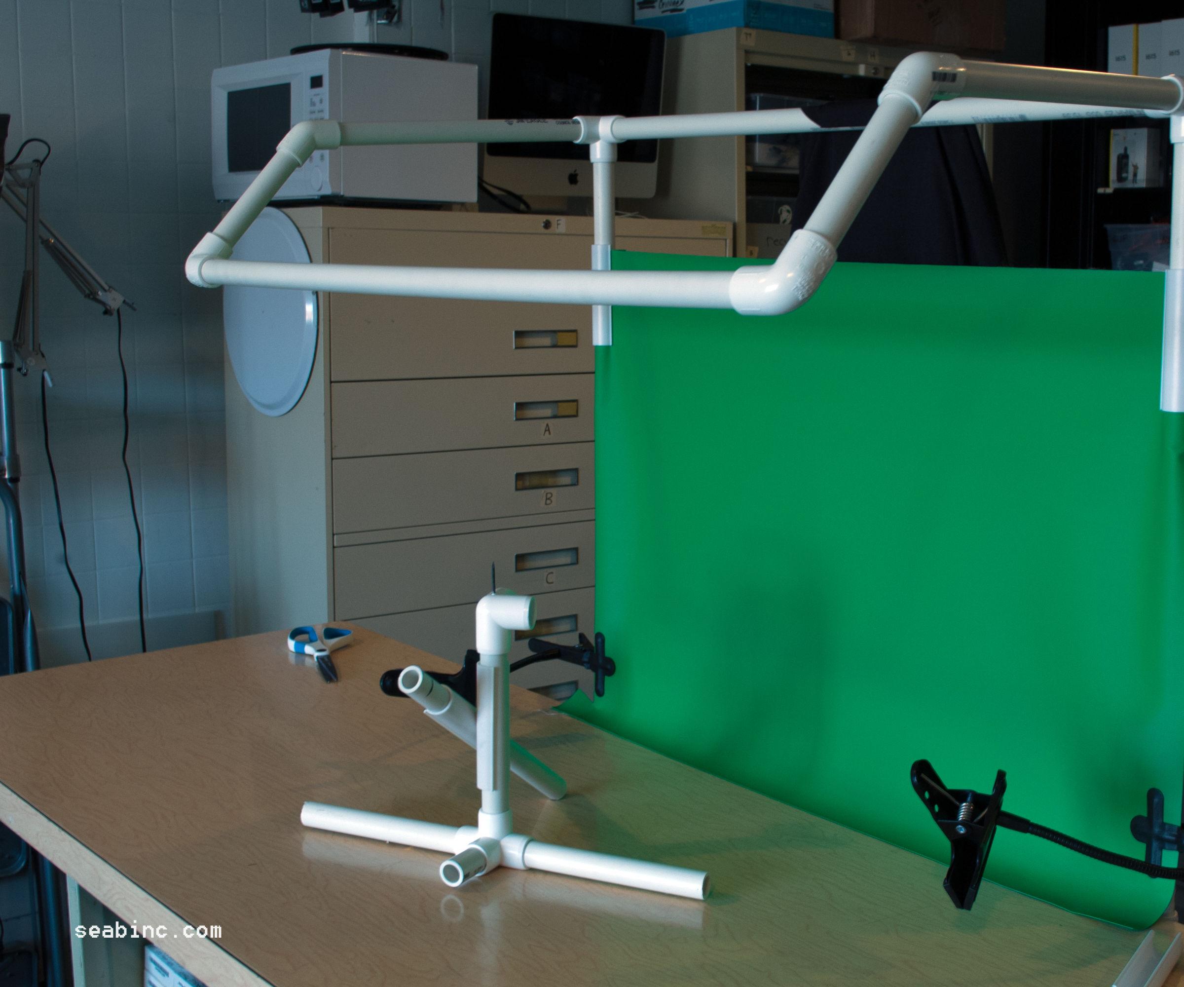 "DIY Photo Light Booth 3/4"" PVC pipe."