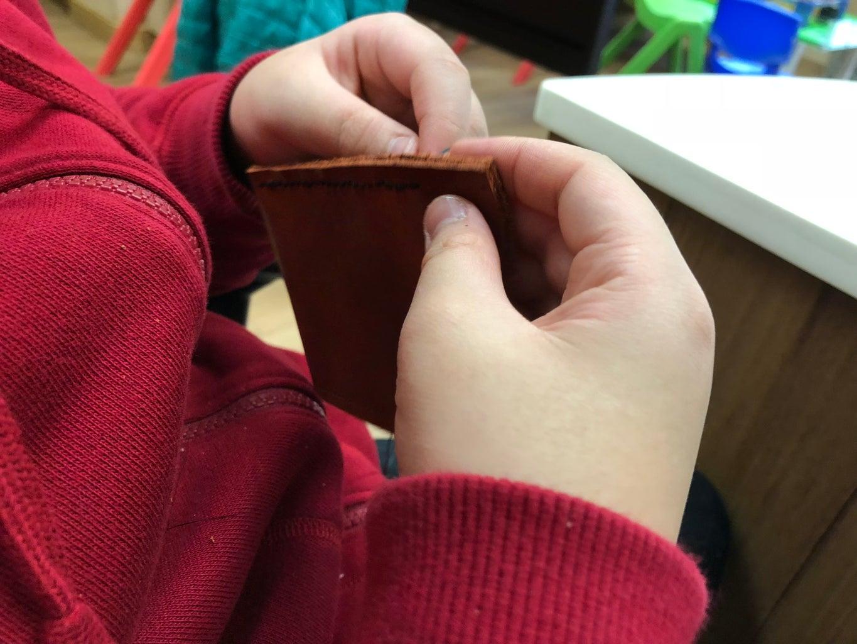 皮革縫製方法