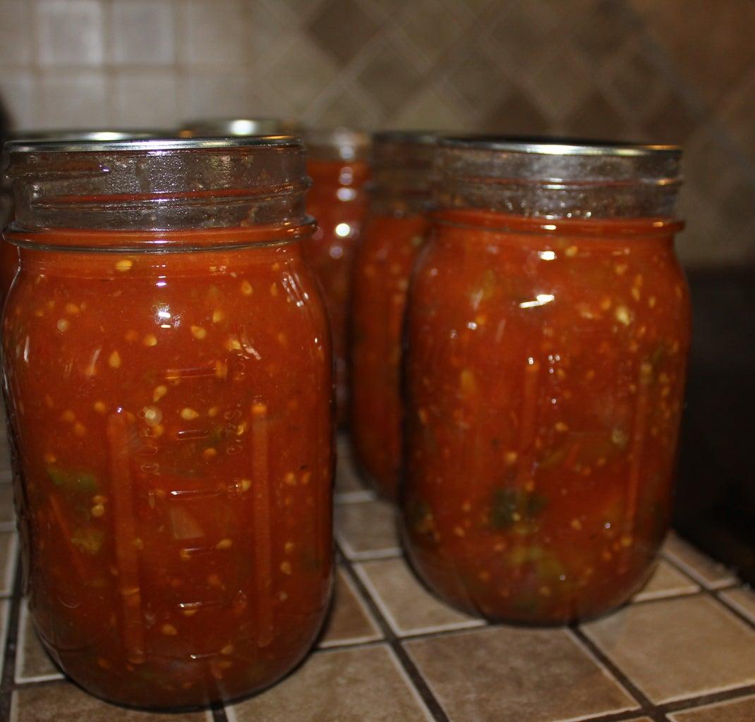 Canning Chili Sauce